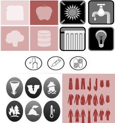 HOPE web icons